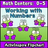 Math Centers: Numbers 0-5 Promethean Flipchart