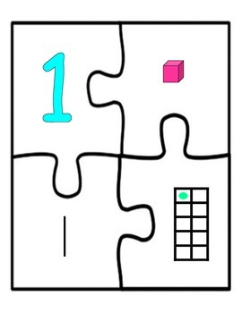 Math Centers: Numbers Puzzles