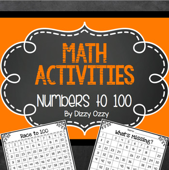 Math Centers: Numbers to 100