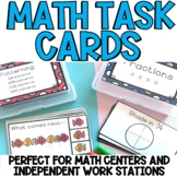 Math Centers - OVER 500 task cards!