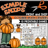 Math Centers October
