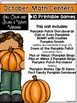Math Centers October