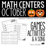 Math Centers - October (1st Grade)