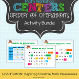 Order of Operations Math Centers Activity Pack