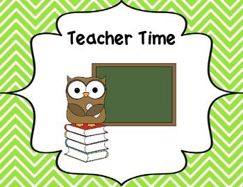 Math Centers - Owl Themed