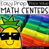 Math Centers {Place Value}