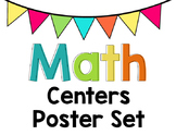 Math Centers Chart - Editable Labels