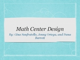 Math Centers Powerpoint