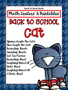Math Centers & Printables: Back to School with the CAT