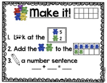 Math Centers {Sums of 10, Counting by 10's, Number Sequence and More!}