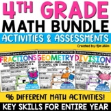 Math Centers & Review | Math Test Prep Task Cards | Mega Bundle