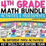 Math Centers & Review | Math Test Prep | Mega Bundle