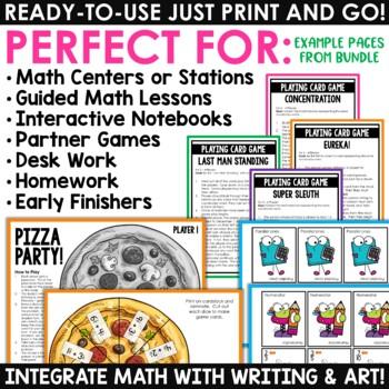Math Centers & Review   Math Test Prep   Mega Bundle