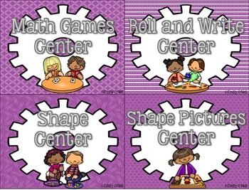 Math Centers (STEM-sational Theme)