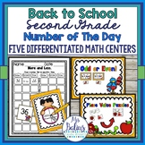 Back to School Second Grade Math Centers Differentiated Nu