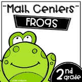 Math Centers Second Grade - Frogs