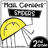 Math Centers Second Grade - Spiders