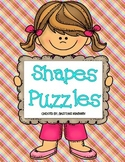Math Centers: Shapes Puzzles
