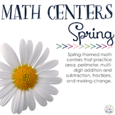 Math Centers: Spring