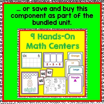 Ten Frame Math Center