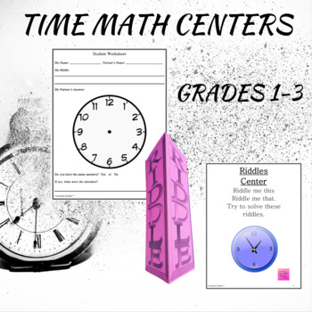 Math Centers Time - CCSS