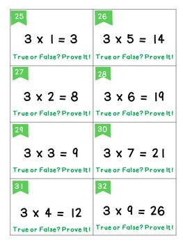 Math Centers {Fractions, Multiplication, Elapsed Time} - Error Analysis