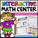 Math Centers, ULTIMATE Year Long Math for 3rd, 4th, and 5th Grades