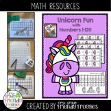 Math Centers - Unicorn Flip and Find - Numbers 1 - 120