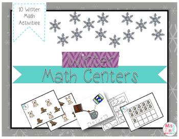Math Centers: Winter