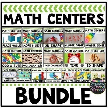 All Year Long MATH CENTERS