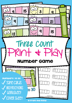 Math Centers and Games for Numbers to 30 - Ultimate Pack #2