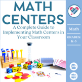 Math Centers eBook: Setting Up Effective Math Centers in Y