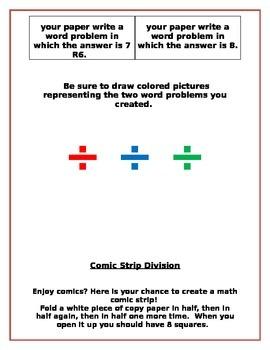 Math Centers for 4.OA.1-3