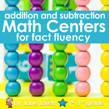 Math Centers for Fact Fluency