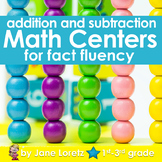 Math Centers for Fact Fluency