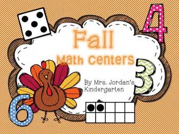 Math Centers for Fall