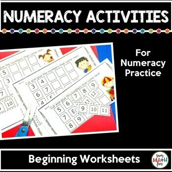 First Week of School-Back to School Numeracy Centers and Activities: Bundled!