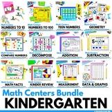 Math Centers for Kindergarten The Bundle