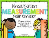Kindergarten Math Centers: Measurement