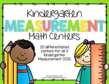 Kindergarten Math Centers: Measurement