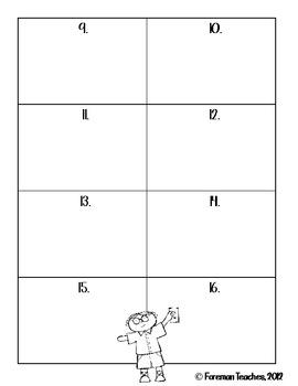 Math Centers for Older Kids - Set 1
