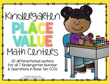 Kindergarten Math Centers: Place Value