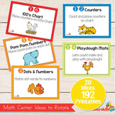 Math Centers for Pre K