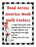 Math Centers for Read Across America Week
