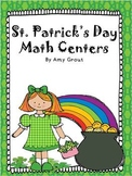 Math Centers for St. Patrick's Day