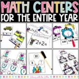 Math Centers for Task Boxes Bundle | Math Centers for the