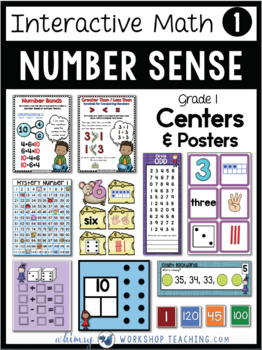 Math Printable Centers, Games and Reference Posters for the Whole Year