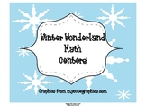 Math Centers for the Winter