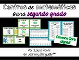 Math Centers in Spanish: Grade 2