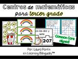Math Centers in Spanish: Grade 3